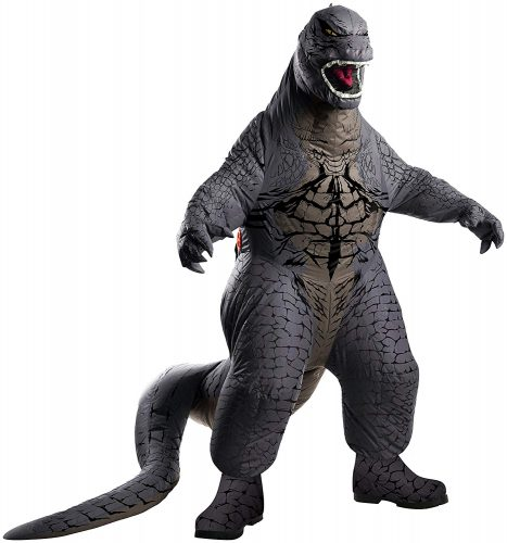 Rubies Godzilla Deluxe Inflatable Child Costume, Child Standard-Medium