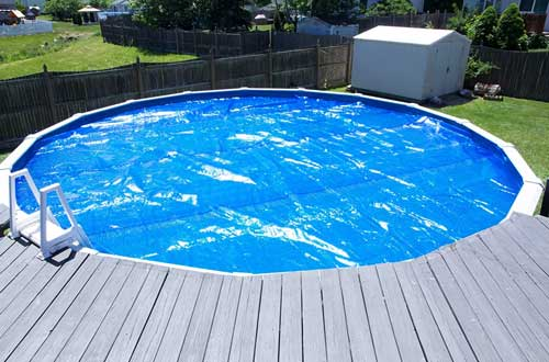 Heating Blanket for Above-Ground Swimming Pools