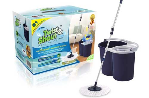 The Award-winning Original Hand Push Spin Mop