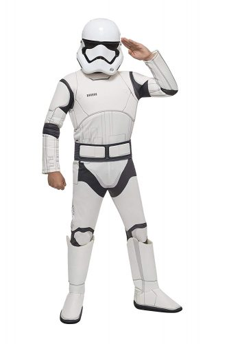 Star Wars VII- The Force Awakens Deluxe Child's Stormtrooper Costume and Mask, Small