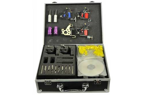 Gun Tattoo Machine Gun Kit with Case