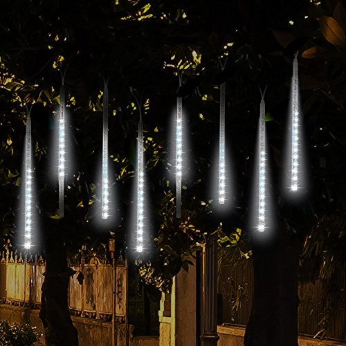 Topist Falling Rain Christmas Lights, A Spectacular Snowfall LED Christmas Lights Show