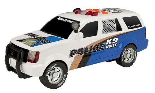 Toy State Police K9 SUV-Unique Verbal Phrases of Police Conversation Is Here!