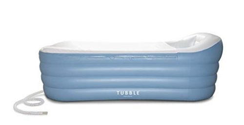 Tubble Inflatable Bathtub, An Adult Size Portable Home Spa Tub