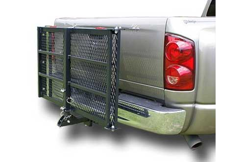 Electric Power Wheelchair Carrier with Loading Ramp