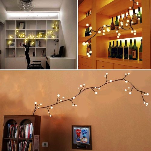 YMING Decorative Fairy Lights, The Dazzling Effect Christmas Lights for Window