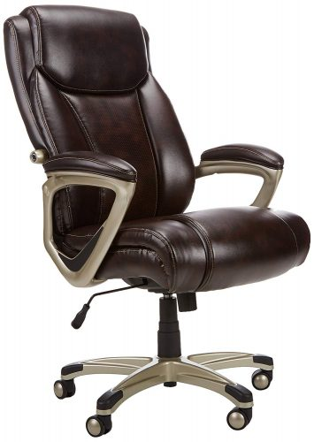 AmazonBasics Big & Tall Executive Chair - Brown
