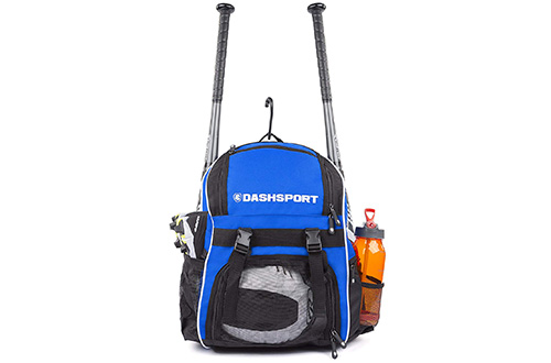 DashSport Baseball Bag Softball Backpack Bat Bag