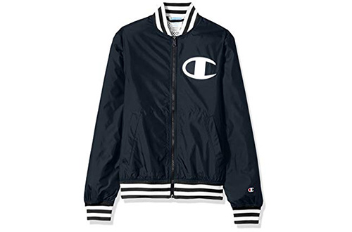 Champion LIFE Men's Satin Baseball Jacket