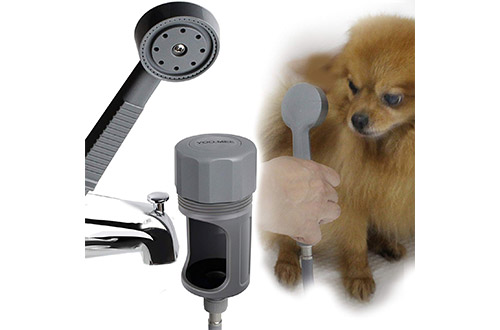 YOO.MEE Tub Spout Shower Sprayer, Ideal for Bathing Child, Washing Pets, Dog Showers