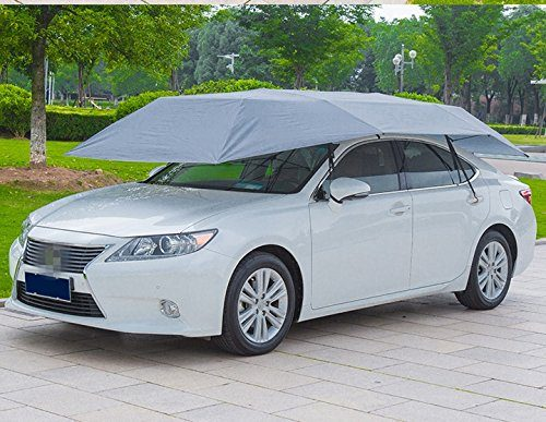 LopazShade Car Tent Movable Carport Folded Portable Automobile Protection Umbrella