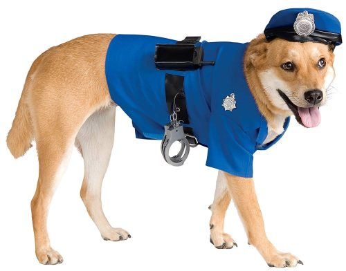 Police Dog Pet Costume-TOP 10 BEST DOGS HALLOWEEN COSTUMES IN 2020 REVIEWS