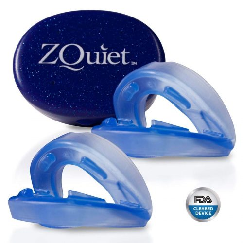 ZQuiet Anti-Snoring Treatment, 2-Size Comfort System Starter Kit, Set of 2 Sleep Aid Mouthpieces