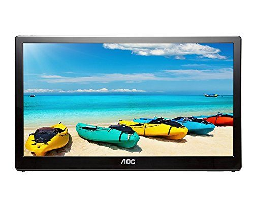 AOC I1659FWUX 15.6INCH USB-Powered Portable Monitor, Full HD 1920x1080 IPS, Built-in Stand, VESA