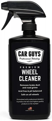 CarGuys Best Wheel and Tire Cleaner on Amazon! - Safe for All Wheels and Rims - Works on Alloy Chrome Aluminum Clear-Coated Painted Polished and Plasti-Dipped Rim - Wheel Cleaner