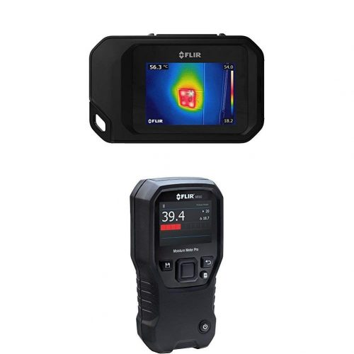 FLIR C3 Pocket Thermal Camera with WiFi with FLIR MR60 Moisture Meter Pro