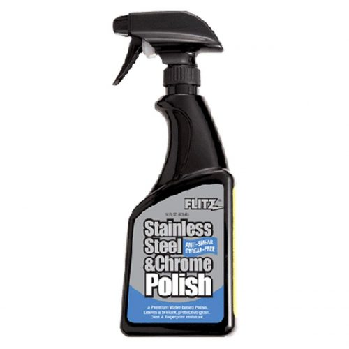 Flitz SS 01306 Stainless Steel and Chrome Polish, 16-Ounce, Small