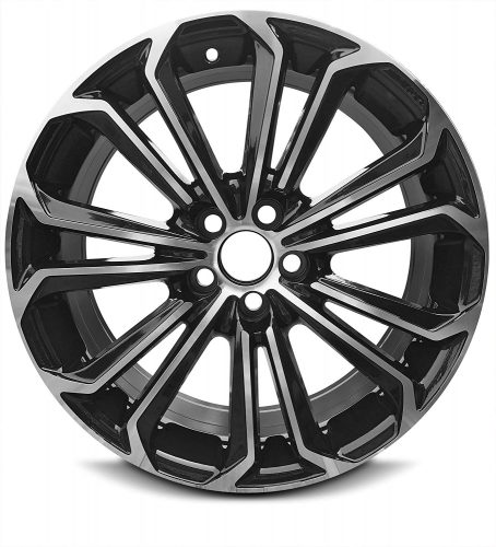 New 17 x 7 Inch 5 Lug (14-16) Toyota Corolla OEM Replica Full-Size Spare Replacement Aluminum Wheel Rim 17x7 5x110 +35mm Offset