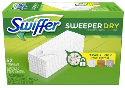 Swiffer Sweeper Dry Sweeping Pad, Multi-surface refills for dusters floor mop