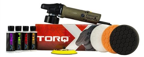 TORQ TORQX Random Orbital Polisher Kit (9 Items)