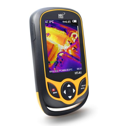 Thermal Imaging Camera, Pocket-Sized Infrared Camera with Real-Time Thermal Image,Infrared Image Resolution 220 x 160-Temperature Measurement Range -4°F to 572°F