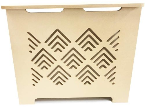Unfinished MDF Radiator Cover - Choose Your Size - Model MD11