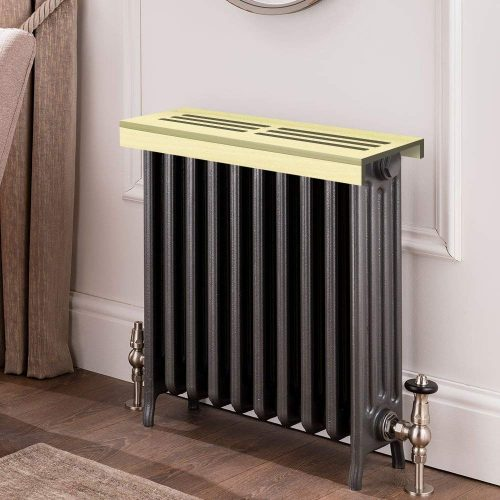 Unfinished Poplar Wooden Radiator Cover Shelf, 20INCH Width x 9INCH Length x 3INCH Height