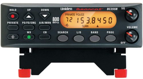 Uniden BC355N 800 MHz 300-Channel Base-Mobile Scanner. Close Call RF Capture Technology. Pre-programmed Service Search