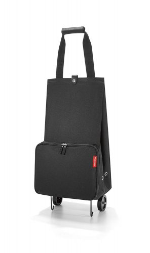 reisenthel Foldable Trolley Bag, Packable Oversized Tote with Wheels