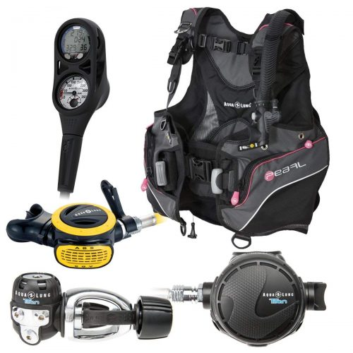 Aqua Lung Women's Pearl (2016) Scuba Gear Package - TOP 10 BEST SCUBA GEARS IN 2019 REVIEWS