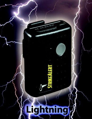 Strike Alert Adjustable Lightning Detector