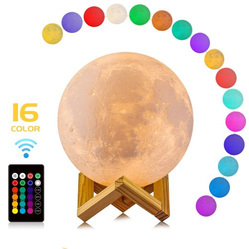 LOGROTATE-Control-Rechargeable-Birthday-Diameter moon lamp