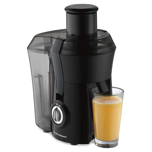"""Hamilton Beach Juicer Machine, Big Mouth 3"""" Feed Chute, Centrifugal, Easy to Clean, BPA Free, 800W, (67601A), Black TOP 10 BEST COLD PRESS JUICERS IN 2019 REVIEWS"""