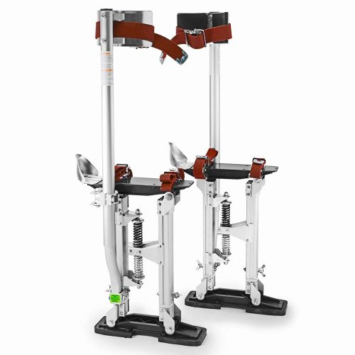 "GypTool Pro 15"" - 23"" Drywall Stilts - Silver TOP 10 BEST DRYWALL STILTS IN 2020 REVIEWS"