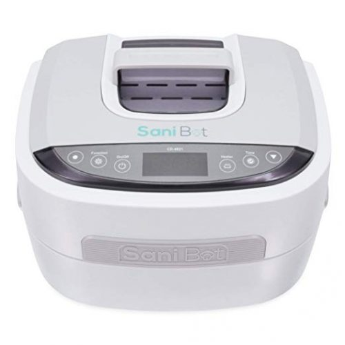 Sani Bot D2 CPAP Mask Sanitizer Cleaning Machine | CPAP Equipment Disinfection | Uses Water and Powerful Cleansing Tablets | Simple, Efficient, and Automated Nasal Mask Cleaner