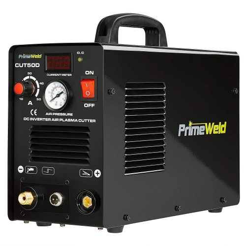 "PRIMEWELD Premium & Rugged 50A Air Inverter Plasma Cutter Automatic Dual Voltage 110/220VAC 1/2"" Clean Cut Portable TOP 10 BEST PLASMA CUTTERS FOR SALE IN 2020 REVIEWS"