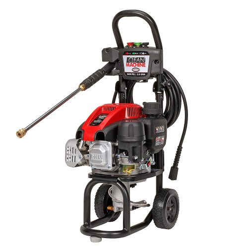 SIMPSON Cleaning CM60912 Clean Machine Gas Pressure Washer Powered by Simpson, 2400 PSI at 2.0 GPMTOP 10 BEST GAS PRESSURE WASHERS IN 2019 REVIEWS