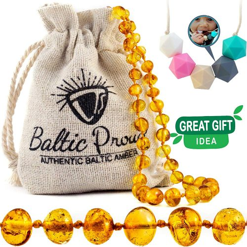 Baltic Proud - Amber Teething Necklace