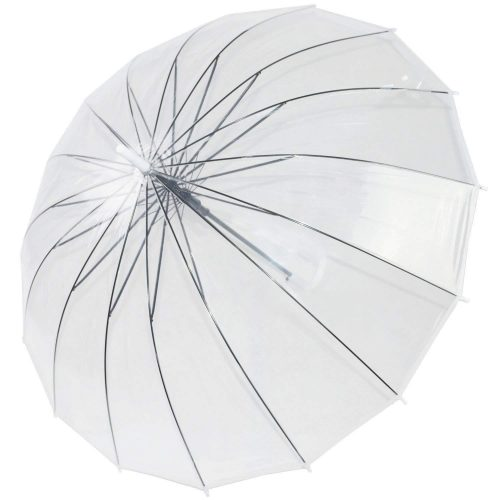 ThreeH Large Windproof Clear Bubble Travel Umbrella
