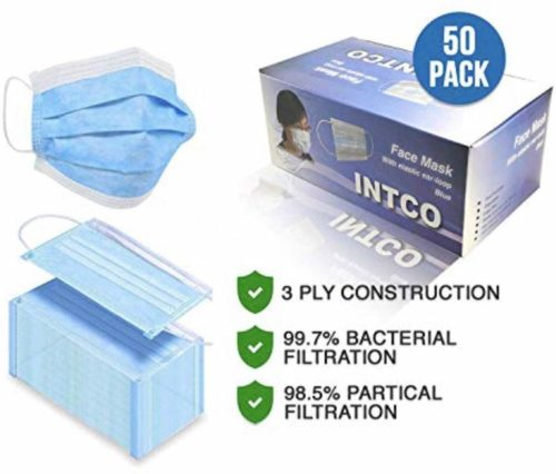Pieces-INTCO-Disposable-Surgical-Masks