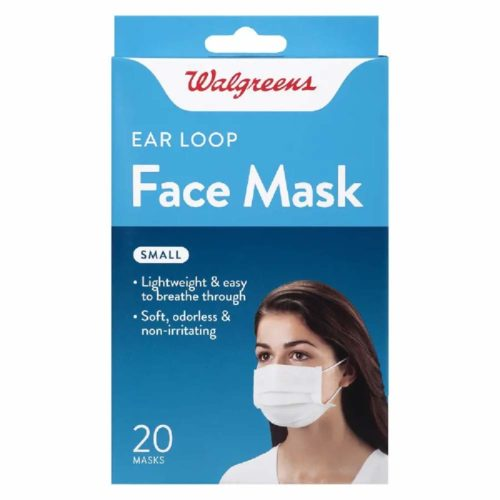 Walgreens-Loop-Mask-Small-Count surgical masks