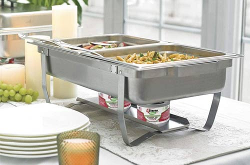 Sterno Products 70153 Foldable Frame Buffet Chafer Set