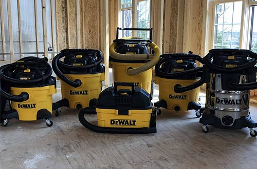 DeWALT DXV06P 6 gallon Poly Wet and Dry Vacuum Cleaners