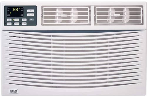 BLACK and DECKER BWAC08WT 8,000 BTU Energy Star Electronic Window Air Conditioners with Remote