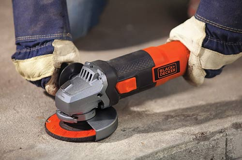 BLACK and DECKER 4-1/2-Inch Angle Grinders