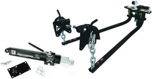 "EAZ LIFT 48056 600 lbs Elite Kit, Includes Distribution, Sway Control and 2-5/16"" Hitch Ball-600 lbs Tongue Weight Capacity (48056)"