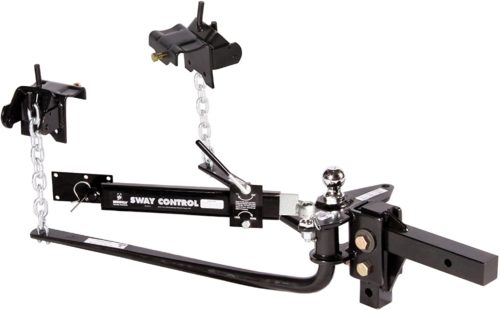 "Husky 31995 600LB Weight Distribution Hitch with Sway Control and 2"" Ball"
