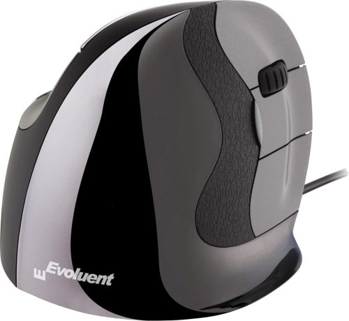 Evoluent VMDS Vertical Mouse D Small Right Hand Ergonomic Mouse with Wired USB Connection