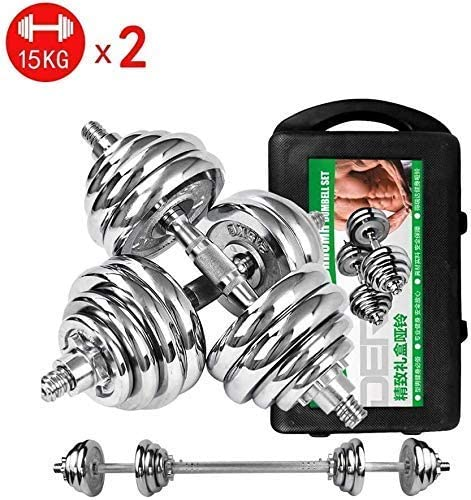 LCSW Dumbbells Tnp Adjustable Dumbbells Set Electroplated Dumbbell Pairs Detachable Fitness Equipment for Home Workout Fitness Exercise Arm Muscles Work Out (Color : 20kg)