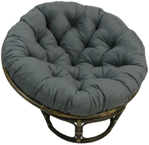 Papasan Chair with Micro Suede Cushion